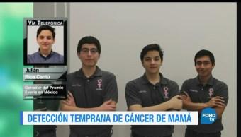 Ana Francisca vega, Entrevista, Julian Rios Cantu, cancer de mama, premio Everis