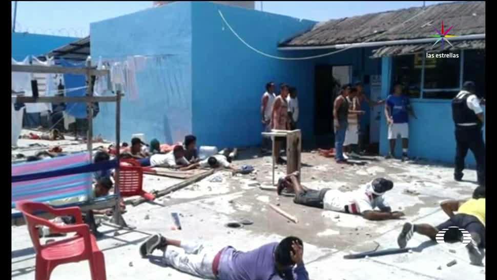 Riña, Grupos Rivales, Cárcel, Playa del Carmen, Motin,