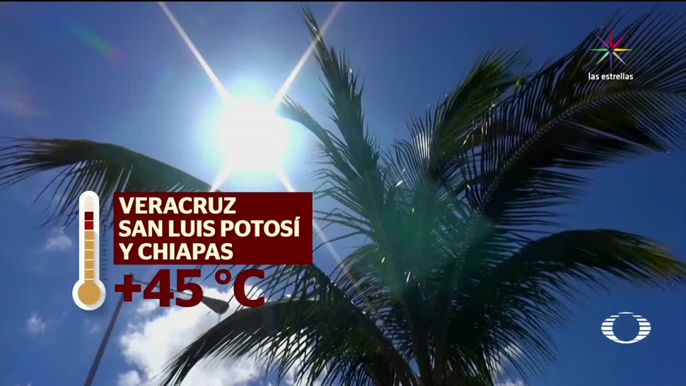 Peligro, Clima, altas temperaturas, golpe de calor, Condiciones, Climatológicas