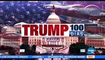 Trump, gobierno EU, casa blanca, 100 días, usa, Estados Unidos