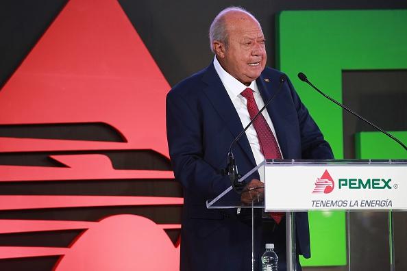 Carlos Romero Deschamps, secretario del Sindicato Petrolero y senador del PRI. (Getty Images, archivo)