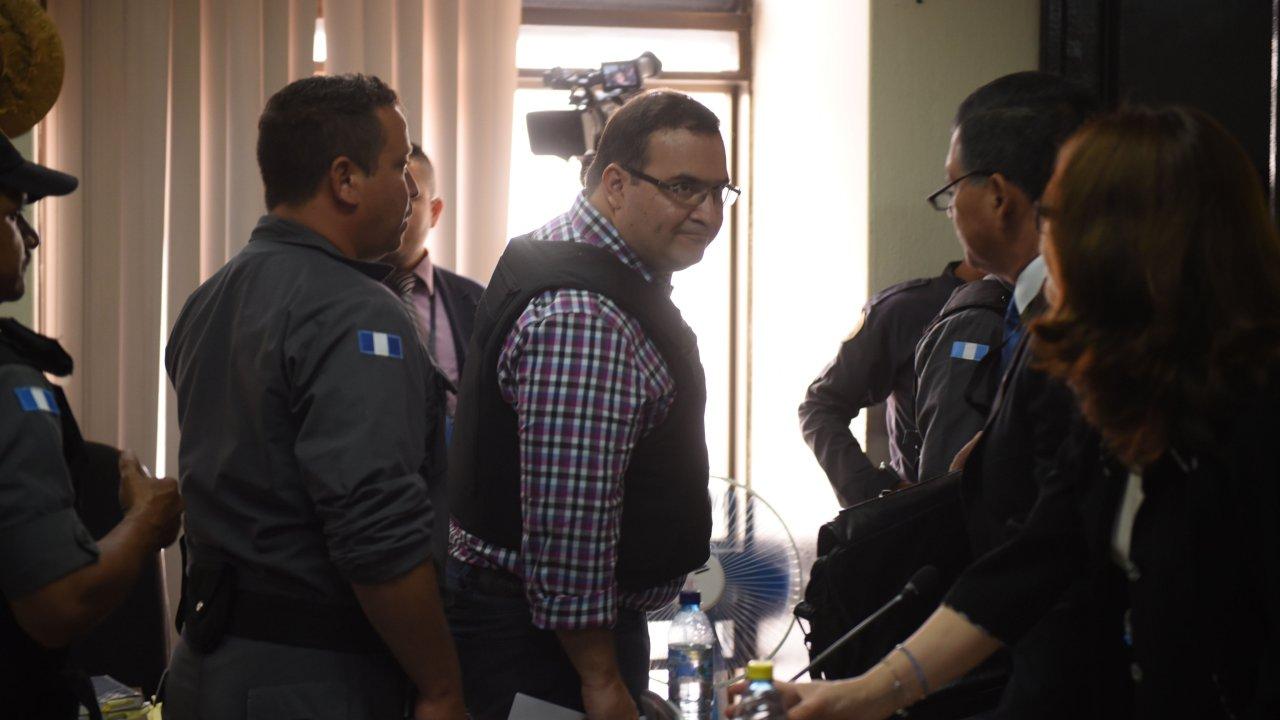 Javier Duarte, exgobernador de Veracruz, quien permanece detenido en Guatemala. (EFE archivo)