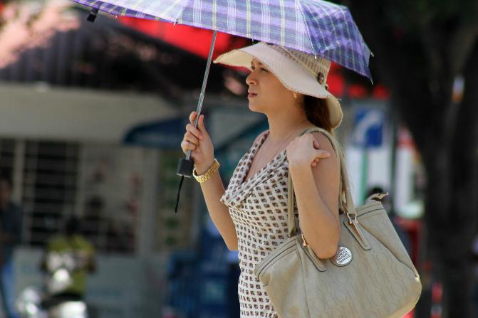El calor seguirá en la CDMX hasta el viernes (Notimex)