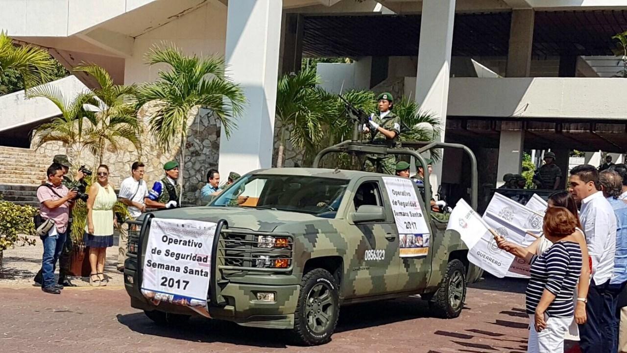 Operativo de seguridad en Guerrero. (Notimex, archivo)