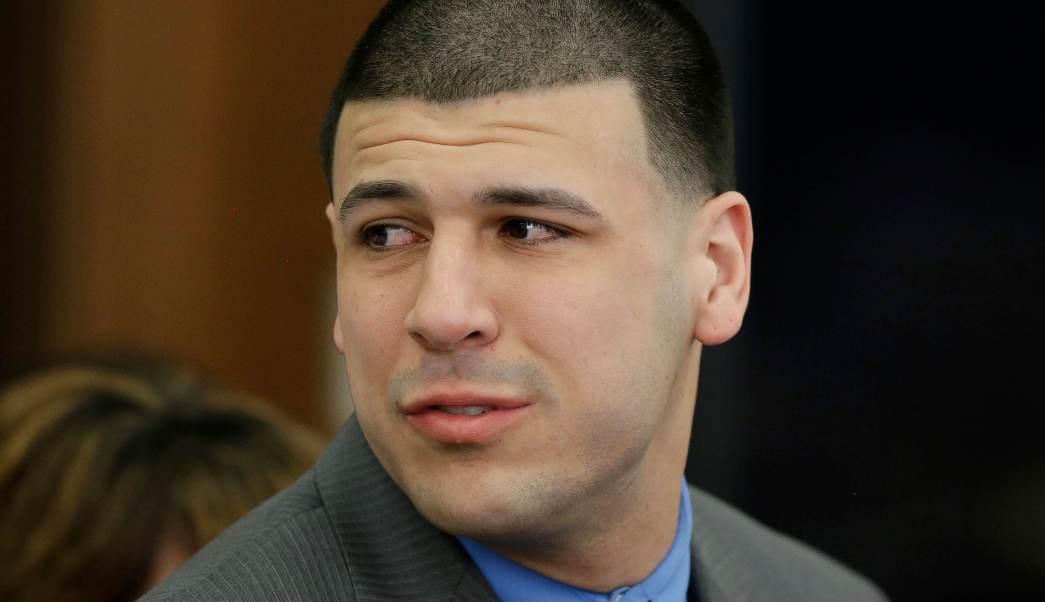 Aaron Hernández, exjugador de los Patriotas de Nueva Inglaterra.