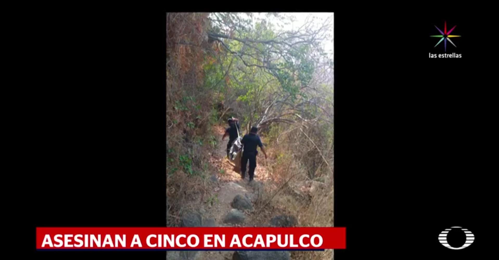 Encuentran fosa con 4 cuerpos en Acapulco