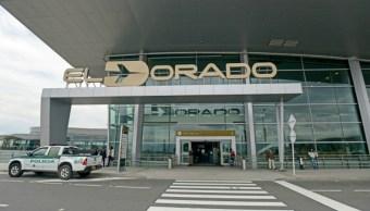 Aeropuerto colombiano El Dorado.
