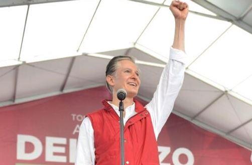 Alfredo del Mazo resalta que comenzará el proceso más importante electoral en el Estado de México (Twitter @alfredodelmazo)