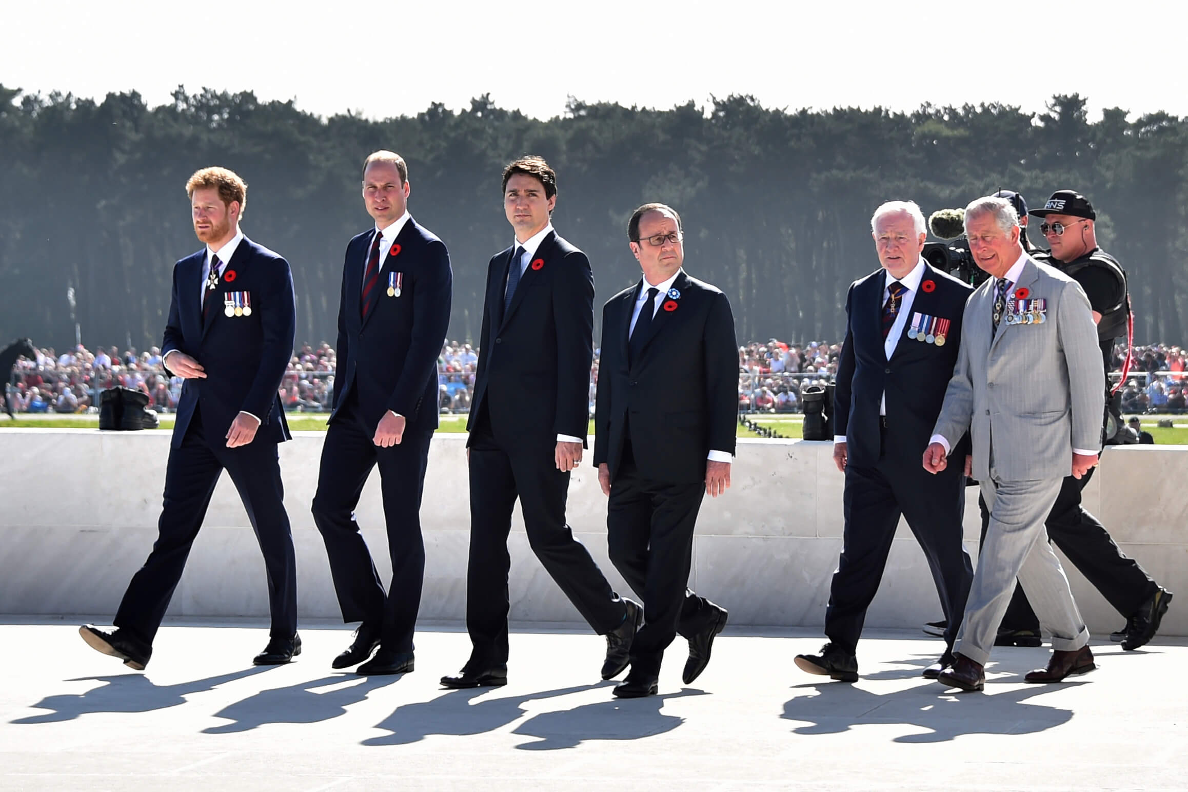 Canadá, Francia e Inglaterra conmemoran 100 años de la batalla de Vimy