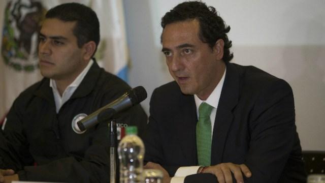 Alberto Elías Beltrán, subprocurador Jurídico y de Asuntos Internacionales de la PGR detalla las acciones del Gobierno de México ante la detención de Javier Duarte (AP)