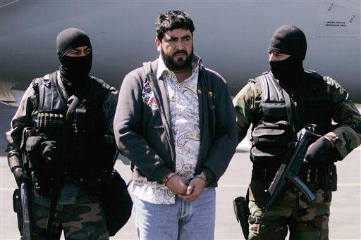 El narcotraficante de 46 años de edad fue arrestado en 2008 y extraditado por México a Estados Unidos en noviembre de 2014. (AP, archivo)