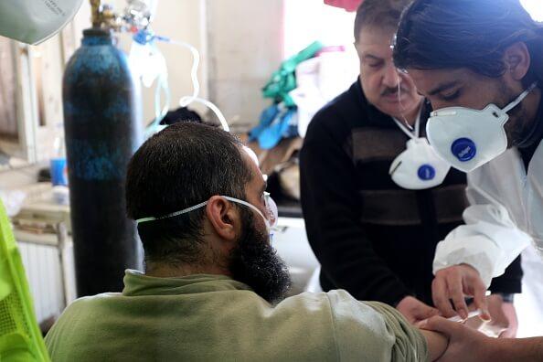 Paciente con armas químicas