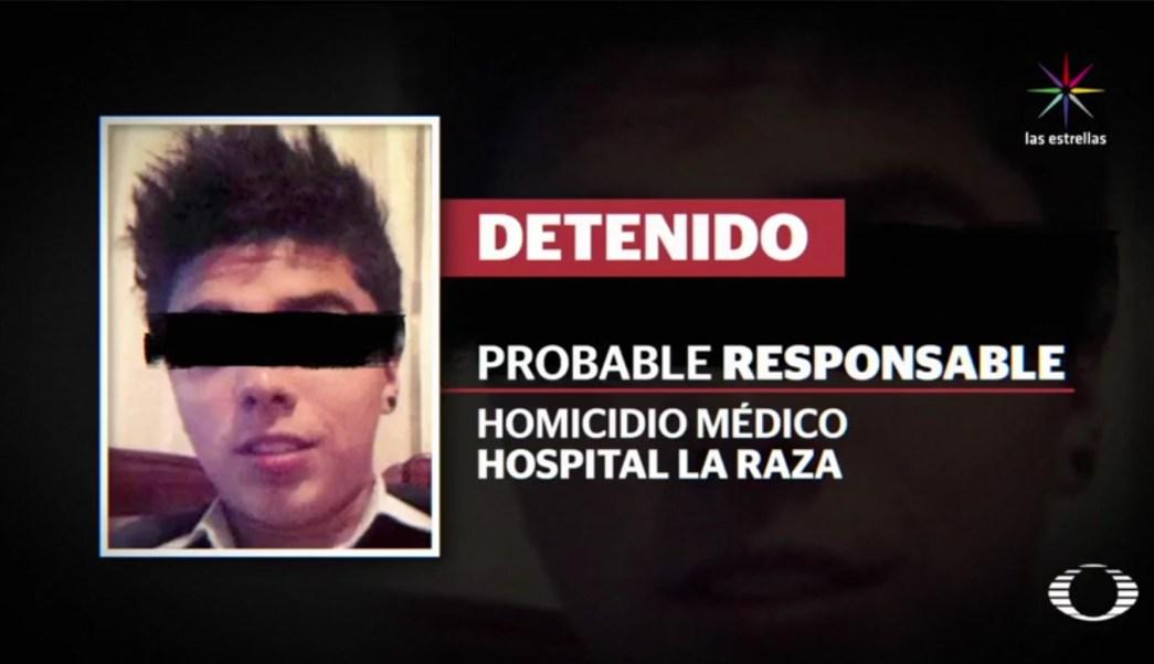 El presunto asesino es identificado como Antonio Hernández. (Noticieros Televisa)