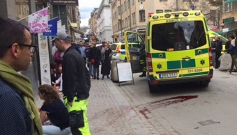 Atentado en Estocolmo, Suecia, deja al menos 2 muertos. (AP)