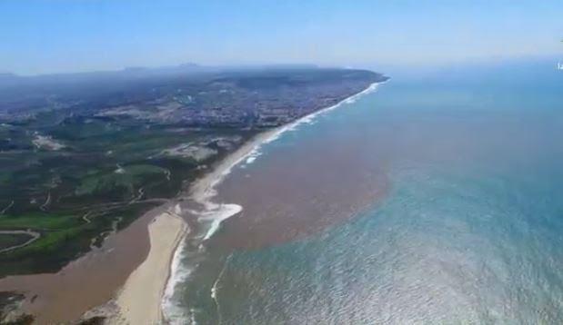 Derrame de aguas residuales en Tijuana dejó daños aún no cuantificados. (Noticieros Televisa)