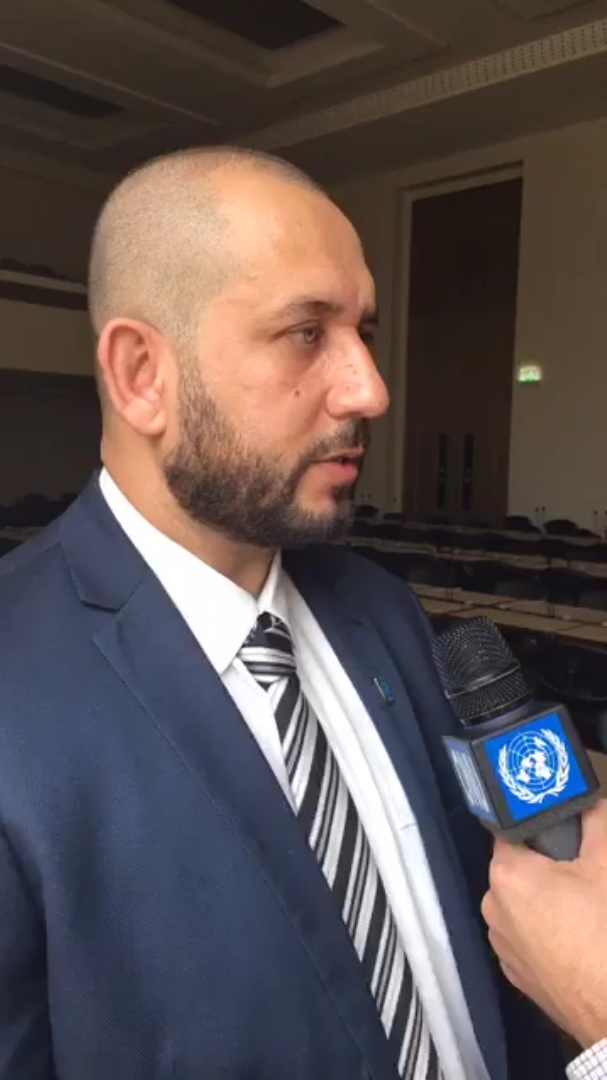 Othman Belbesi, jefe de misión de la OIM para Libia denuncia 'mercados de esclavos' (Facebook- IOM - UN Migration Agency)