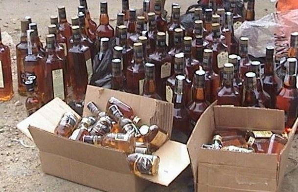 Las botellas quedaron a disposición de Ministerio Público Federal. (Twitter @lopezdoriga)