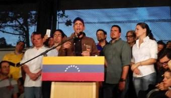 Capriles acusa que represión contra opositores continúa en Venezuela (ElImpulso)