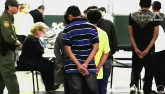 Migrantes denuncian violencia y abusos en los centros de detención en EU. (Noticieros Televisa)