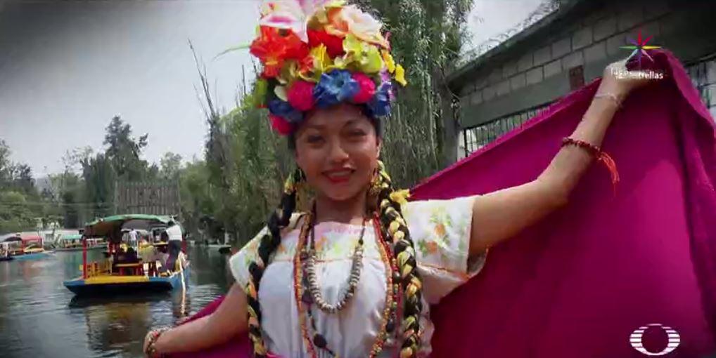 La Flor más Bella del Ejido, tradición que se celebra en Xochimilco. (Noticieros Televisa)