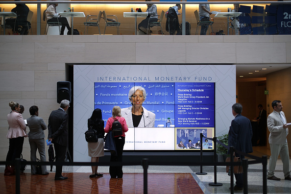 Christine Lagarde, directora gerente del FMI. (Getty Images)