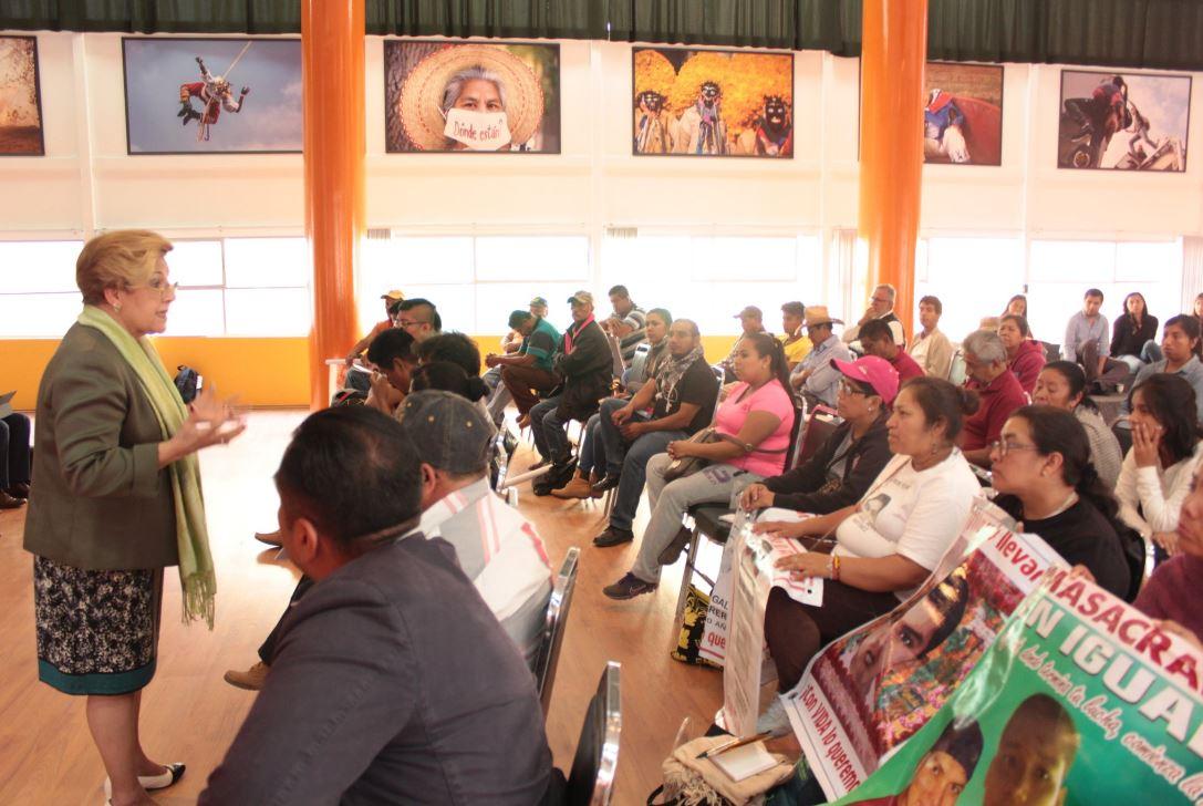 No hay procesados por desaparición forzada por caso Ayotzinapa: CIDH