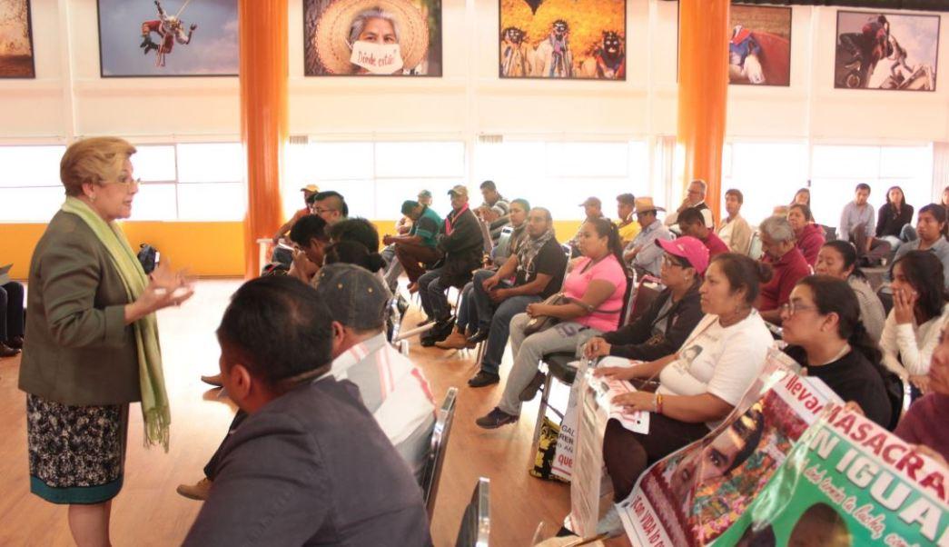 Este jueves, la Comisión Interamericana de Derechos Humanos (CIDH) realizó una segunda visita oficial a México, en seguimiento al Caso Iguala. (Twitter@CIDH)