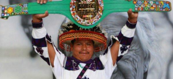 cinturon huchol, wixarika, marakame, julio cesar chavez jr, canelo