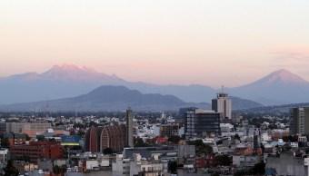 Panorámica de la Ciudad de México; prevén una temperatura máxima de 26 grados centígrados. (Notimex)