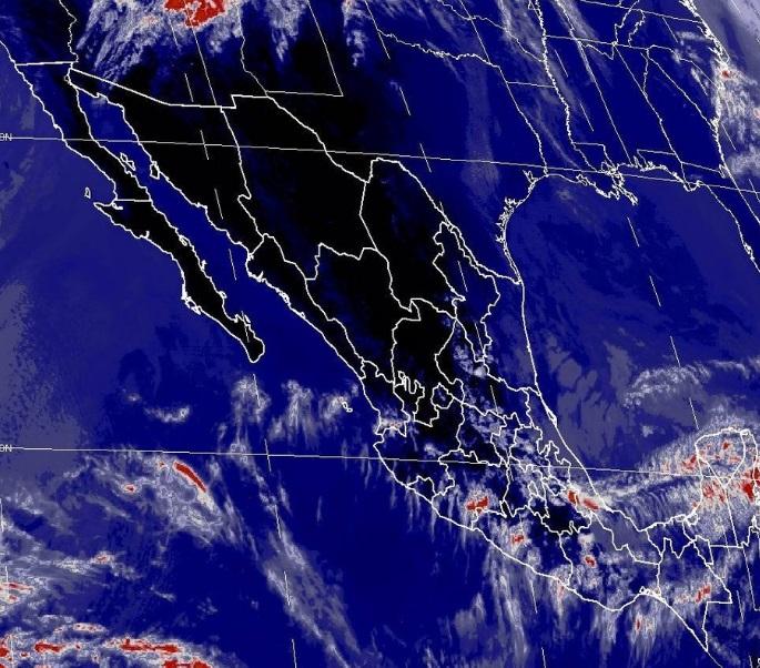 El SMN prevé en el Golfo de México cielo nublado con 40% de probabilidad de intervalos de chubascos en Veracruz y lloviznas en Tamaulipas y Tabasco (Foto: Conagua)