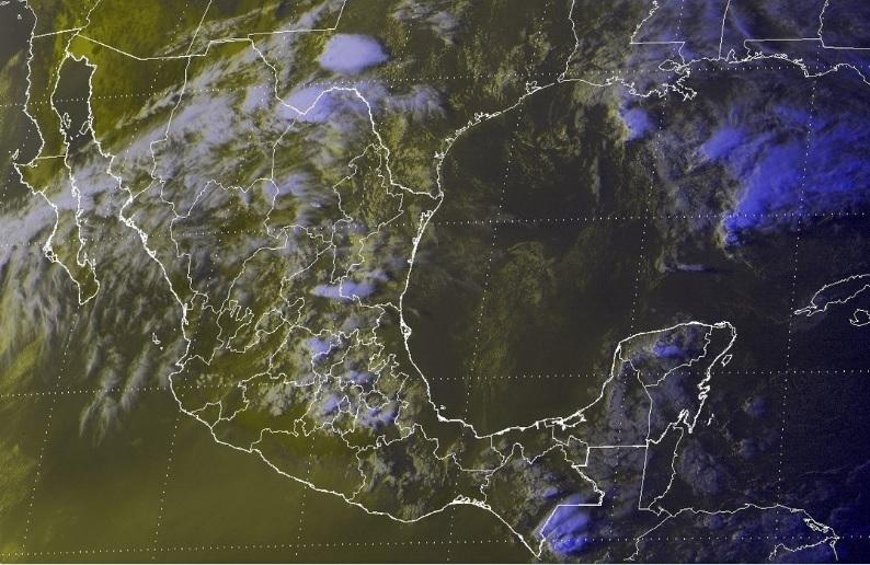 Se prevén lluvias con intervalos de chubascos en Veracruz, Guerrero, Oaxaca y Chiapas, y lloviznas en Zacatecas, Jalisco, Michoacán y Quintana Roo (Foto: Conagua)