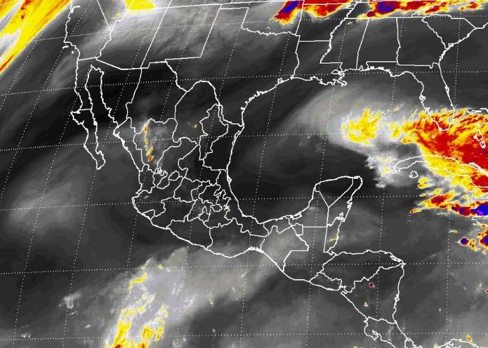 Se prevé viento con rachas mayores a 50 kilómetros por hora en Chihuahua, Coahuila, Nuevo León, San Luis Potosí, Zacatecas y Durango (Twitter @conagua_mx)
