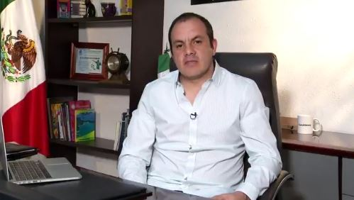 Cuauhtémoc Blanco, presidente municipal de Cuernavaca. (Twitter @cuauhtemocb10)