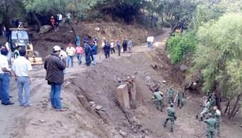 Las lluvias y granizadas ocurrieron los días 17 y 18 de abril en el estado de Oaxaca. (Twitter @GobOax)