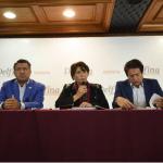 Delfina Gómez anuncia que auditará las últimas administraciones mexiquenses. (Twitter/@delfinagomeza)