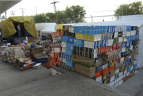 Destruye PGR en Guanajuato, más de nueve toneladas de productos falsificados. (PGR)