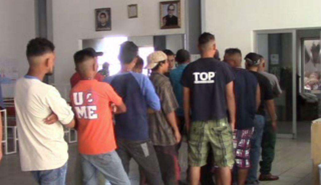 Disminuye la llegada de migrantes a San Luis Potosí. (Noticieros Televisa)