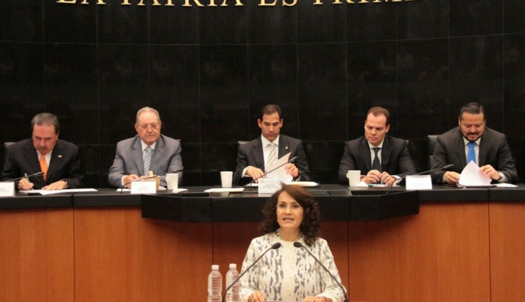 Dolores Padierna, coordinadora del PRD en el Senado de la República. (Twitter: @Dolores_PL)