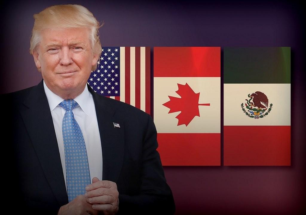 Donald Trump ha amenazado con imponer restricciones fronterizas. (AP, Graphics bank)