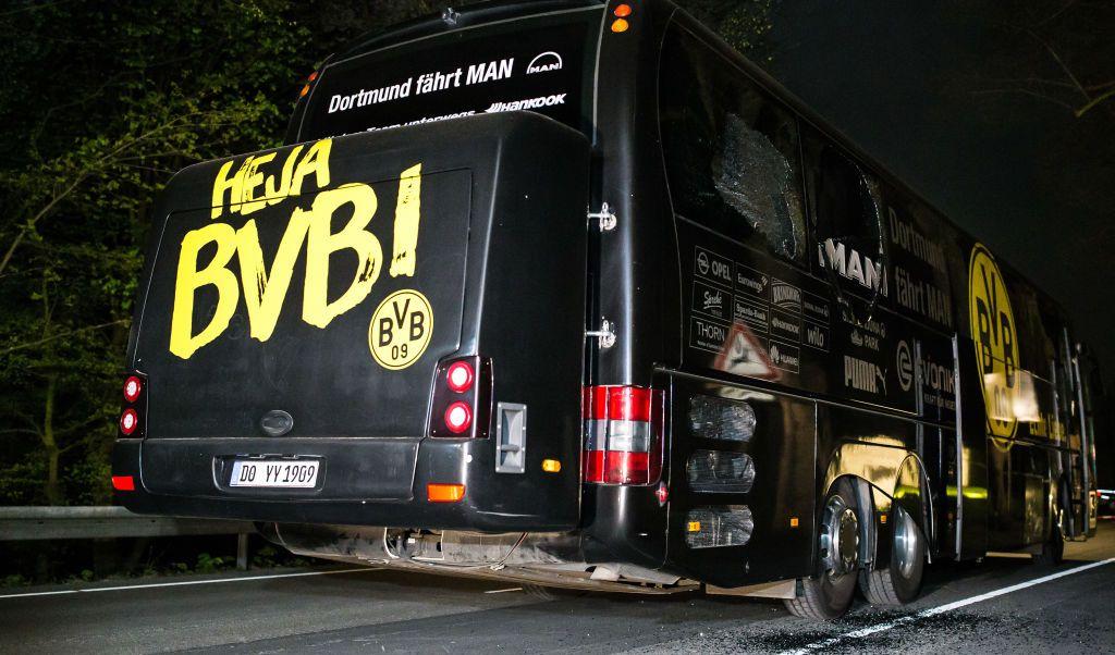 Durante al ataque al autobús del Borussia Dortmund el jugador Marc Bartra resultó lesionado.