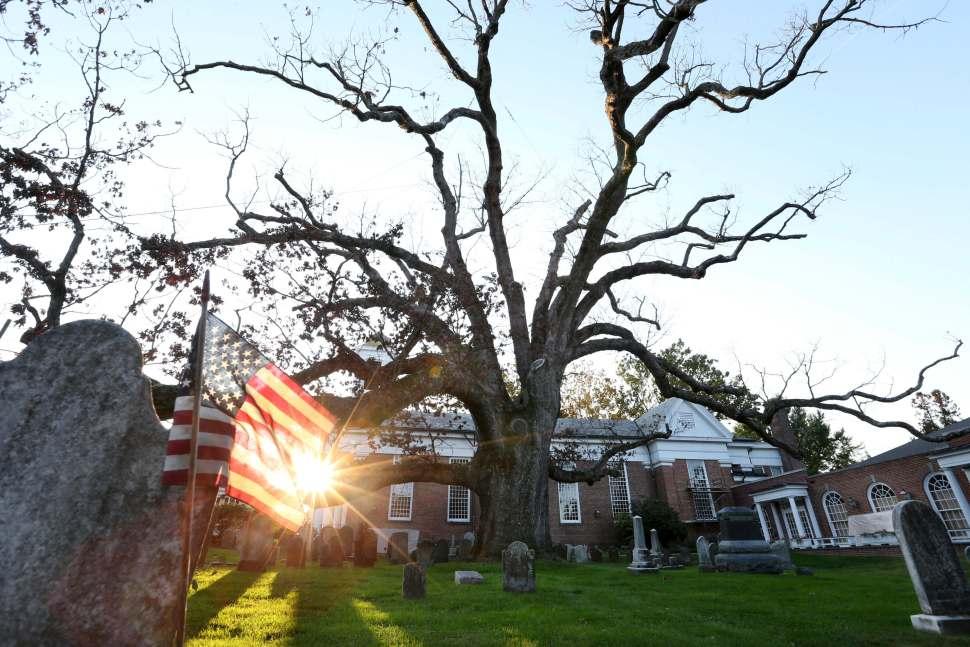 El árbol ha sido una parte importante de la comunidad desde el nacimiento del poblado en la década de 1700.