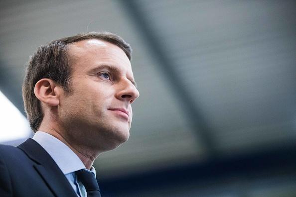 Emmanuel Macron. (Getty Images)