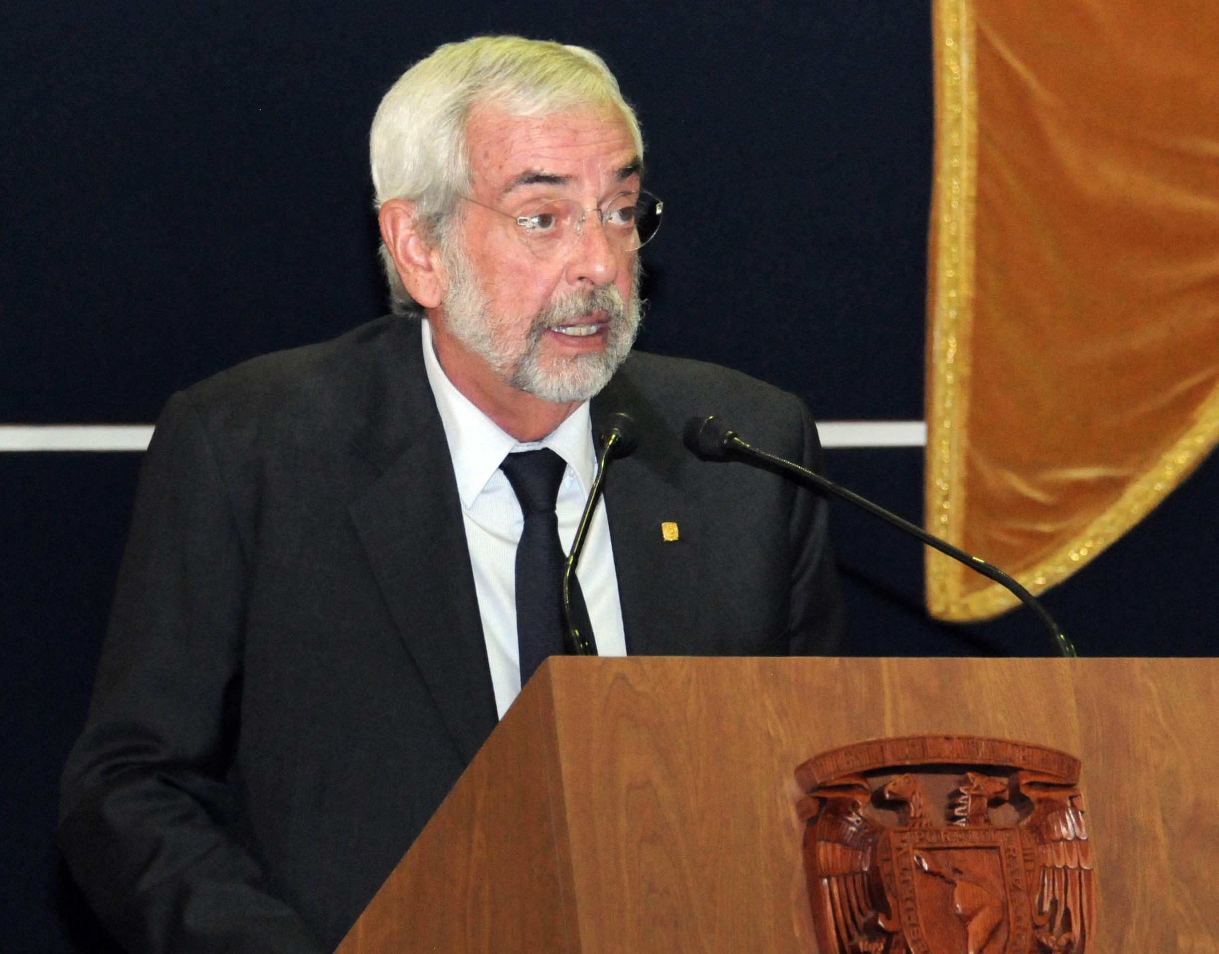 Llama Graue a universidades de EU a seguir apoyando a México
