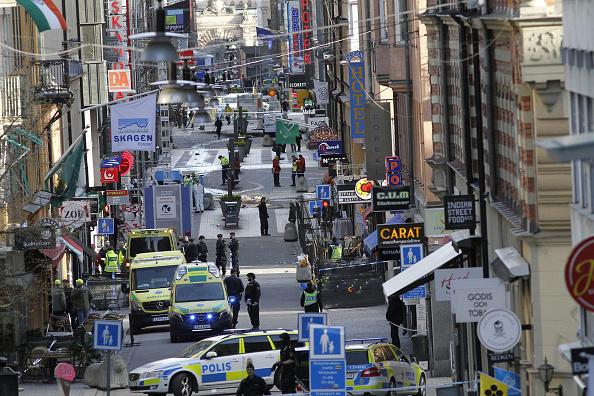 Estocolmo, Suecia, terrorismo, ataque, atentado, muertos