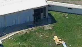 La explosión generó daños a las instalaciones. (AP)