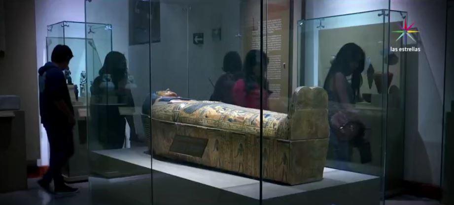 Exposición en el Museo de las Culturas, CDMX. (Noticieros Televisa)