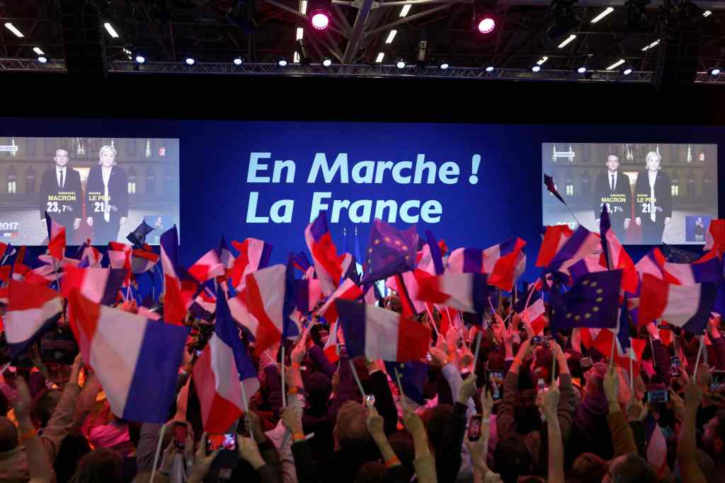 Marine Le Pen pasa a la segunda ronda en las elecciones en Francia.