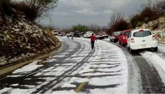 Granizada afecta municipios de Valles Centrales y Nochixtlán, en Oaxaca (Twitter @CEPCO_GobOax)