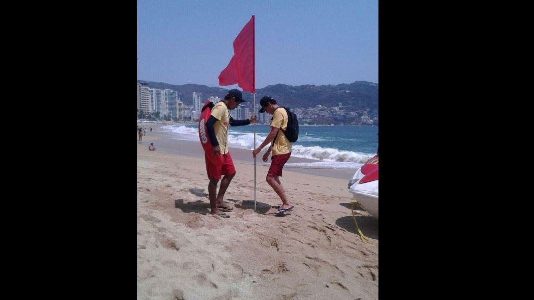 Playas, Acapulco, Guerrero, Oleaje