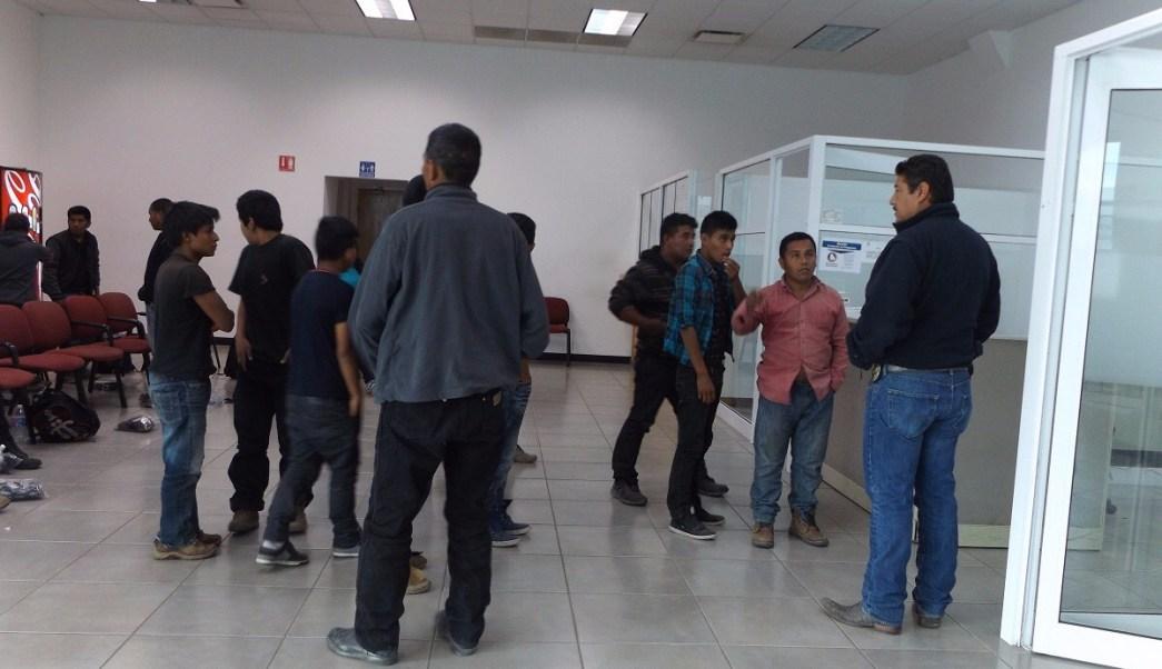 Los migrantes fueron puestos a disposición del INM (Noticieros Televisa)